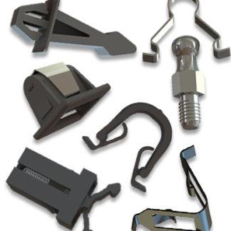 Sistemas de cierre push, metálicos, engranajes