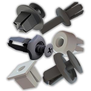 Remaches de fijación rápida, de ¼ de vuelta y clips de fijación a panel