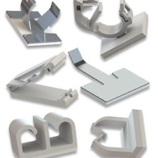 Self-Adhesive Wire Clips