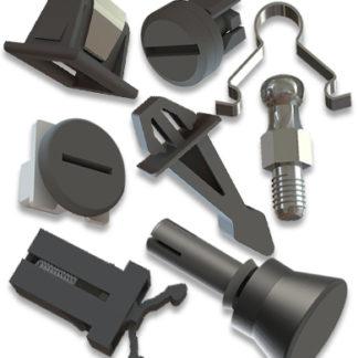 Befestigungssysteme wiederlösbar - Schnellverschlüsse - Push Push Elemente - Lüfterbefestigungen