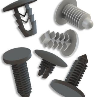 10Pcs Kit di Rivetti per Fissaggio di Fissaggio per Pannelli e schede per Pannelli Interni per Auto Outbit Clip di Montaggio per Porte