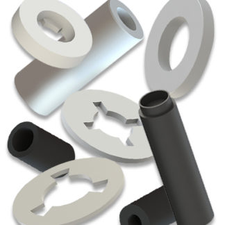 PLASTIC WASHERS AND SPACERS