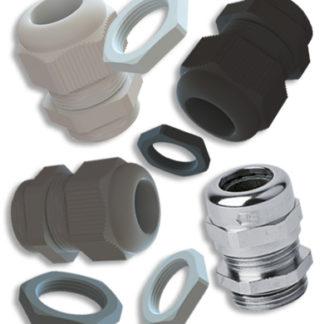 PG & Metrische Kabelverschraubungen Gegenmuttern Verschlussschrauben