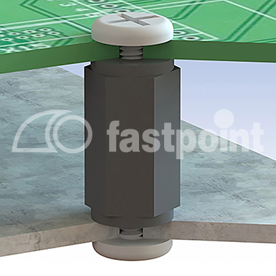 abstandsbolzen mit innen innengewinde m2 5 fastpoint fastpoint. Black Bedroom Furniture Sets. Home Design Ideas
